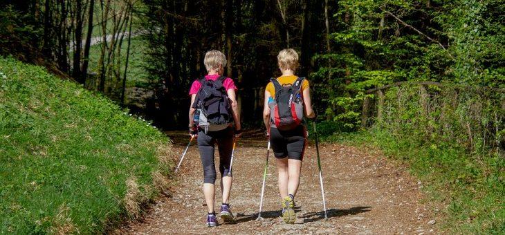 Trekking i nordic walking a dobre zdrowie